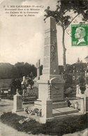 CPA - CAMIERS (62) - Aspect Du Monument Aux Morts En 1924 - Other Municipalities