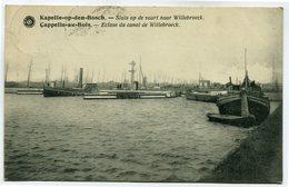 CPA - Carte Postale - Belgique - Cappelle Au Bois - Ecluse Du Canal De Willebroeck ( SV5651) - Kapelle-op-den-Bos