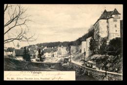 SUISSE - VALANGIN - TRAMWAY - NE Neuchatel