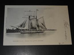 GRAVELINES (NORD) - RETOUR D'UNE GOËLETTE ISLANDAISE - 1903 - Gravelines