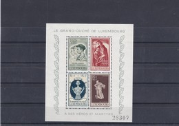L 170 - Luxembourg (Luxemburg) - Prifix Bloc (block) N°5 Neuf Sans Charnière (ungebraucht) ** - Luxemburg