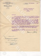 29451 TUNISIE 1929 LETTER FROM TUNIS ASSURANCE DARMON ATTIAS TO SFAX - Documenti Storici