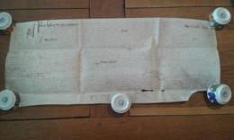Parchemin Manuscrit, Conliège (Jura) 1647 - Manuscrits
