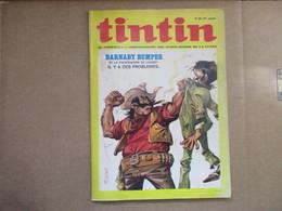 Tintin Le Super Journal Des Jeunes De 7 à 77 Ans  (N° 34 / 1972) 27° Année Édition Belge - Livres, BD, Revues
