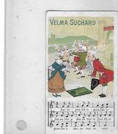 CHROMOS   CHOCOLAT SUCHARD  PONT D AVIGNON  PARTITION      N 82 - Suchard