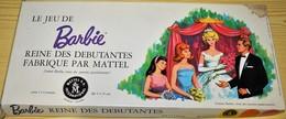 Très Rare Jeu De Société Barbie Reine Des Débutantes 1964 Complet Par Mattel - Barbie