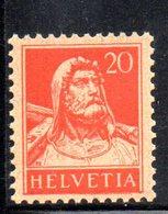 419/1500 - SVIZZERA 1924 ,  Unificato N. 202  ***  MNH - Nuovi