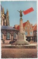 Tienen, Thienen, Tirlemont,Monument Wereldoorlog I, Achtergrond Oldtimer En Particierswoning, ¨Collectors!!! - Tienen