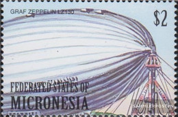 Mikronesien 1056 (complete Issue) Unmounted Mint / Never Hinged 2000 Airships - Micronesia