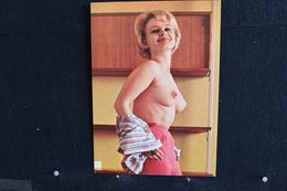 31 - P-up / Carte - Photo /  Pin-Up  -  KIM  -  Modèle  Nue,  Daily Girl Press  /  Circulé   .-30 - Pin-Ups