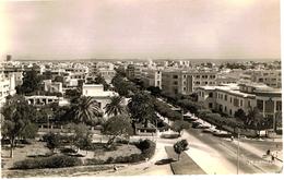 RABAT-OFFICE CHERIFIEN DES PHOSPHATES ET AVENUE URBAIN BLANC-CPSM- - Rabat