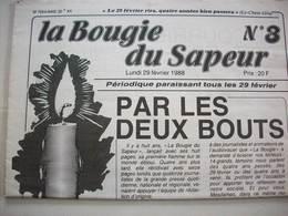 Journal 1988 ( La Bougie Du Sapeur ) N° 3 - Journaux - Quotidiens