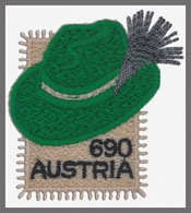 H01 Austria 2018 Styrian Hat SPECIAL MNH Postfrisch - 1945-.... 2a Repubblica