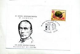 Lettre  Cachet Bludenz Famille Kolping - Machine Stamps (ATM)
