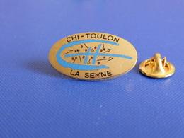 Pin's CHI Toulon La Seyne - Hôpital - Centre Hospitalier Intercommunal (MA49) - Medical