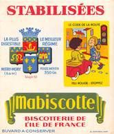 Buvard - Mabiscotte - Biscotterie De L'Ile De France - Zwieback