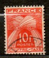 FRANCE Taxe  1943-46 N° 76 - Taxes