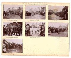 BLANC-MISSERON - Fête - Sous-préfet - Remise Médailles - Mineurs - Douaniers - 7 Photographies - Juin 1898 - Voir Scan - Anonymous Persons