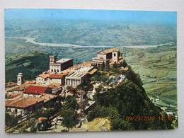 CP SAINT MARIN  ( San Marino ) écrite Et  Timbrée Avec 5 Timbres JO Tokio 1964 - Italie - Saint-Marin