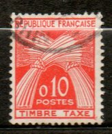 FRANCE Taxe  1960 N° 91 - Taxes