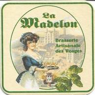 SOUS-BOCKS - LA MADELON (Bière De France) Brasserie Artisanale Des Vosges - Beer Mats