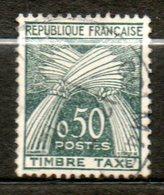 FRANCE Taxe  1960 N° 93 - Taxes