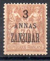 Zanzibar  Sansibar Y&T 25* - Sansibar (1894-1904)