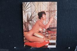 50 - P-up / Carte - Photo /  Pin-Up  - INA  -  Modèle  Nue,  Daily Girl Press  /  Circulé   . - Pin-Ups