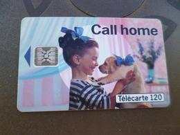 Télécarte France 1993 Call Home 120 Unités SC4 An Trou Diamètre 6 - 1993