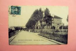 """AULNAY SOUS BOIS  """"  AVENUE DU PARC """" ECRITE ET VOYAGEE 1909 . - Aulnay Sous Bois"""