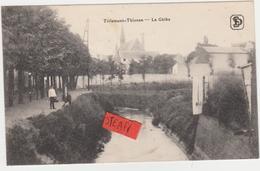 Tienen, Thienen, Tirlemont,De Gete Met Op Achtergrond Kerk Grimde, Collectors!!!! - Tienen