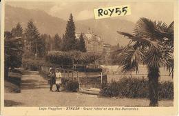 Piemonte-verbania-stresa Grand Hotel Lago Maggiore Veduta Hotel Parco Bambini Palme - Italia