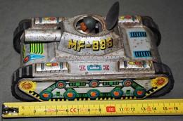 Rare Char D'assaut à Friction Avec Personnage - Toy Memorabilia