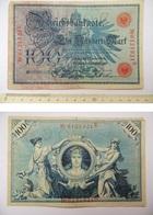 Ein-Hundert-Mark-7-Februar-1908-Deutsche-Reich-Reichsbankdirektorium -100 - [ 2] 1871-1918 : Duitse Rijk