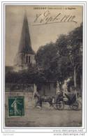 Jaulnay (37) L'Eglise (caleche Beau Plan) - Non Classés