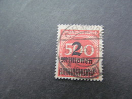 DR Nr. 311A, 1923, Gestempelt, BPP Geprüft Beispielscan - Used Stamps