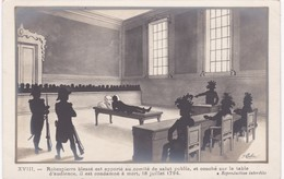 Jean COULON  Illustrateur Lyonnais - LA REVOLUTION - XVIII - Robespierre Blessé.. Est Condamné à Mort 18 Juillet 1794 - Illustrateurs & Photographes