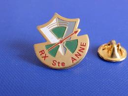 Pin's RX Rayons X Ste Sainte Anne - Hôpital - Centre Hospitalier (MA62) - Medical