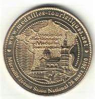 Medaille Numérotée Arthus Bertrand 13.Marseille - 26e Salon Médailles Touristiques 2010 - 2010