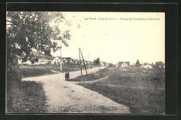 CPA Duclair, Route De Caudebec à Duclair - Duclair