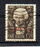 ITALIA TRIESTE 1949 CANCELLED - 7. Triest