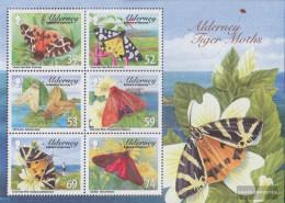 United Kingdom - Alderney Block30 (complete Issue) Unmounted Mint / Never Hinged 2012 Bear Spinner - Alderney