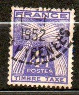 FRANCE Taxe  1946-55 N° 84 - Taxes