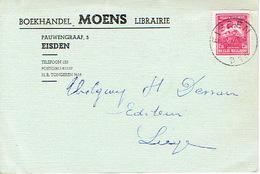 PK Publicitaire EISDEN 1947 - MOENS - Boekhandel - Maasmechelen