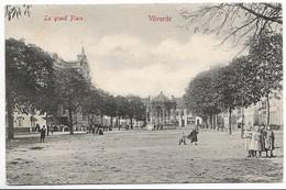 CPA PK  VILVORDE  LA GRAND'PLACE   KIOSQUE  CARTE ANIMEE - België