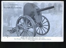 CANON DE 57 - Ausrüstung
