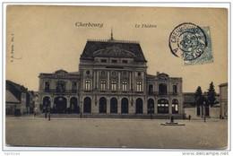 """Cachet Ambulant \""""CHERBOURG A PARIS 2° 1904\"""" BLANC Frappe SUPERBE LUXE POUR PARIS - Marcophilie (Lettres)"""