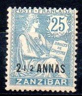 Zanzibar  Sansibar Y&T 51* - Sansibar (1894-1904)