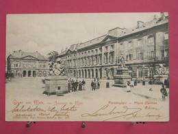57 - Souvenir De Metz - Place D'Armes - CPA Précurseur - Scans Recto Verso - Metz