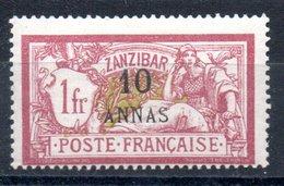 Zanzibar  Sansibar Y&T 55* - Sansibar (1894-1904)